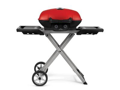 "44"" Napoleon TravelQ 285X Portable Gas Grill with Scissor Cart - TQ285X-RD-1-A"