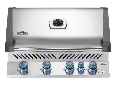 "33"" Napoleon Prestige 500 Series Built-In Natural Gas Grill With Infrared Rotisserie Burner - BIP500RBNSS-3"