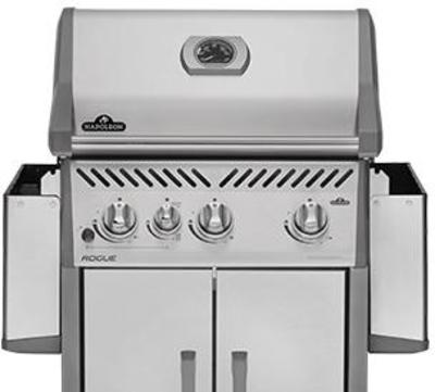 Napoleon Freestanding Natural Gas Grill with Standard Burners R525SIBNSS
