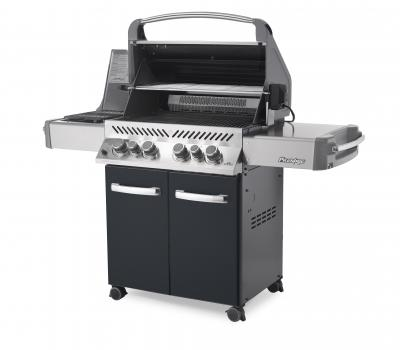 Napoleon Prestige Gas Grill  with Infrared Side and Rear Burners - P500RSIBK-1