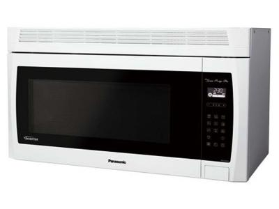 "30"" Panasonic Genius Prestige Plus Over-the-Range Microwave Oven - NNSE284W"