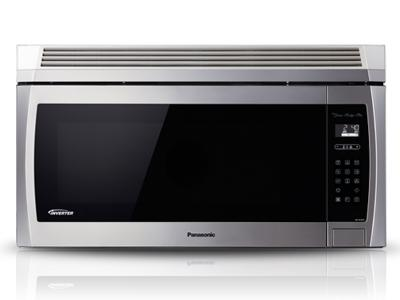 "30"" Panasonic Genius Prestige Plus Over-the-Range Microwave Oven - NNSE284S"