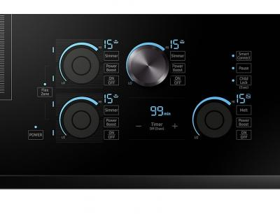 """30"""" Samsung  Induction Chef Collection Cooktop- NZ30M9880UB"""