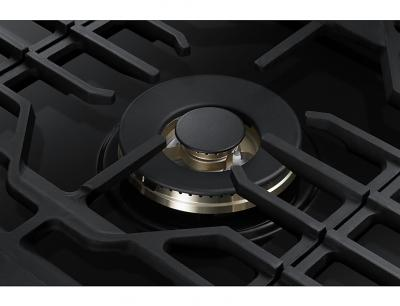 "30"" Samsung Gas Cooktop with 22K BTU Dual Power Burner, NA30N7755TG/AA (Black Stainless) - NA30N7755TG"