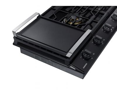 "36"" Samsung Gas Chef Collection Cooktop with 22K BTU Dual Power Burner - NA36N9755TS"