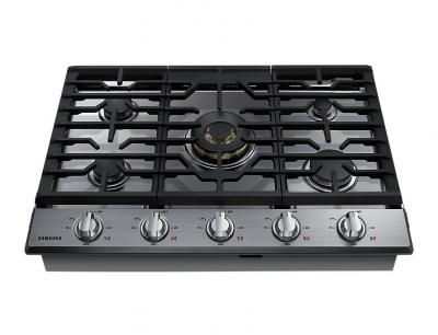 "30"" Samsung Gas Cooktop with 22K BTU Dual Power Burner - NA30N7755TS"