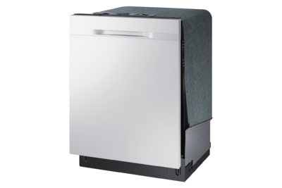 """24"""" Samsung 44dB Tall Tub Built-In Dishwasher with Stainless Steel Tub - DW80K5050UW"""