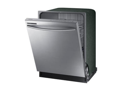 """24"""" Samsung Top Control Dishwasher with Stainless Steel Door - DW80M2020US"""
