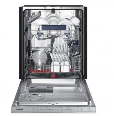 Samsung Top Control Dishwasher with WaterWall Technology - DW80M9550US