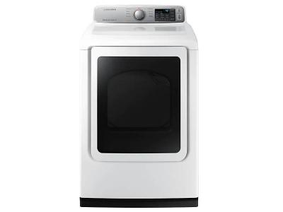 "27"" Samsung 7.4 cu.ft. Dryer with Smart Care - DVE50N7350W"