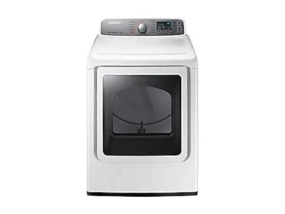 "27"" Samsung 7.4 cu.ft Gas Dryer with Steam  DV48H7400GW"