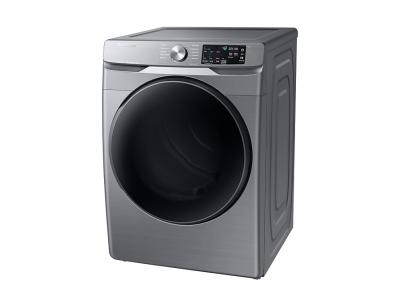 "27"" Samsung 7.5 Cu.Ft. Electric Dryer With Steam Sanitize In Platinum - DVE45T6100P"