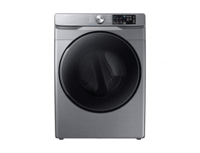 "27"" Samsung 7.5 Cu.Ft. Electric Dryer With Steam Sanitize In Platinum - DVE45T6100P"