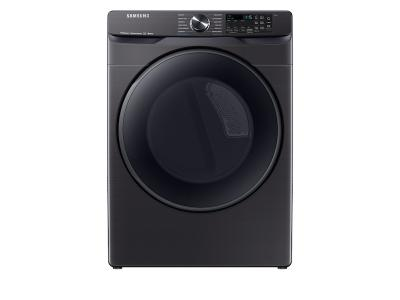 "27"" Samsung Smart Electric Dryer With Steam Sanitize In Black Stainless Steel - DVE50R8500V"