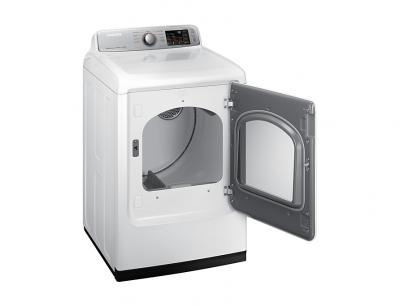 "27"" Samsung 7.4 Cu.Ft. Electric Dryer With SmartCare - DVE50T7350W"