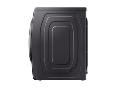 "27"" Samsung 7.5 Cu. Ft. Smart Electric Dryer With Steam Sanitize In Black Stainless Steel - DVE45R6300V"