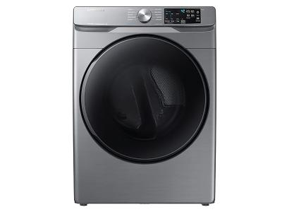 "27"" Samsung 7.5 Cu.Ft. Gas Dryer With Steam Sanitize In Platinum - DVG45T6100P"