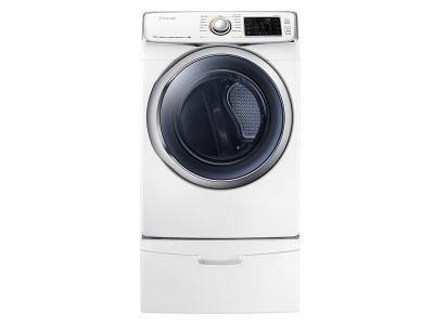 Samsung  7.5 cu.ft Electric Front-Load Dryer (White) - DV45H6300EW