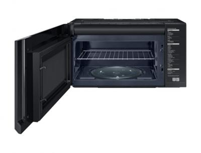"""30"""" Samsung 2.1 Cu. Ft. Over the Range With Glass Touch Bottom Control - ME21M706BAS"""