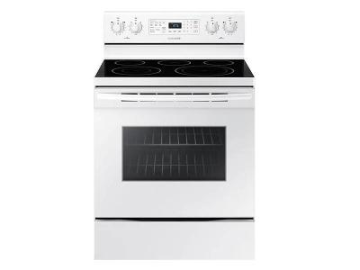 "30"" Samsung 5.9 cu.ft. Electric Range with Fan Convection -  NE59M4320SW"