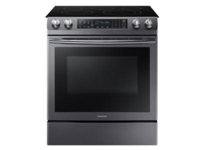 "30"" Samsung Slide-in Electric Range With 5 Burners And Dual Convection Oven- NE58R9430SG"