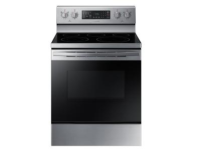 "30"" Samsung 5.9 cu. ft. Electric Range with Fan Convection - NE59R4321SS"