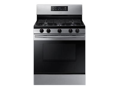 Samsung Gas Range with Large Capacity, 5.8 cu.ft. - NX58M3310SS