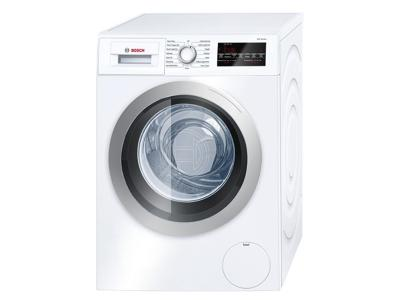 """24"""" Bosch 2.2 Cu. Ft. 500 Series Compact Washer In White - WAT28401UC"""