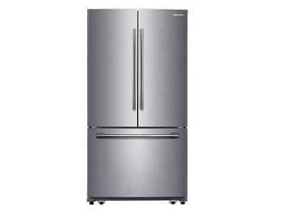 "36"" Samsung 26 Cu.Ft. 3-Door French Door Refrigerator With Twin Cooling Plus - RF26HFPNBSR"