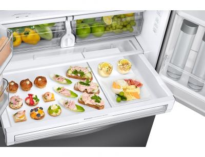 Samsung  French Door Refrigerator with Twin Cooling Plus (Stainless steel) - RF28R6201SR