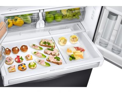 "36"" Samsung French Door Refrigerator with Twin Cooling Plus (Black stainless steel) - RF23R6201SG"