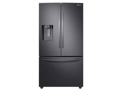 "36"" Samsung  French Door Refrigerator with Twin Cooling Plus (Black Stainless steel) - RF28R6201SG"