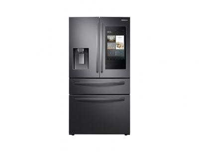 "36"" Samsung 28 cu. ft. French Door Refrigerator with 21.5"" Touch Screen Family Hub - RF28R7551SG"