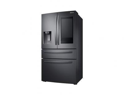 """36"""" Samsung 28 cu. ft. French Door Refrigerator with 21.5"""" Touch Screen Family Hub - RF28R7551SG"""