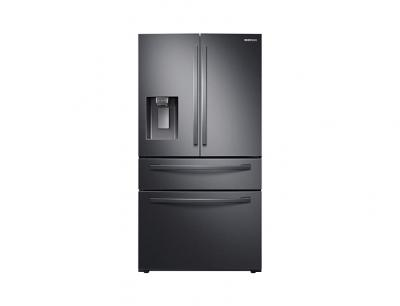 "36"" Samsung  French Door with Twin Cooling Plus (Black Stainless Steel) - RF28R7201SG"