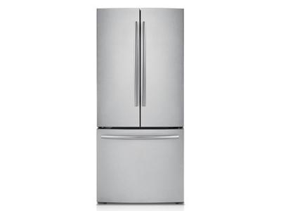 "30"" Samsung RF221NCTASR French Door Refrigerator with Digital Inverter Technology, 21.6 cu.ft - RF221NCTASR"