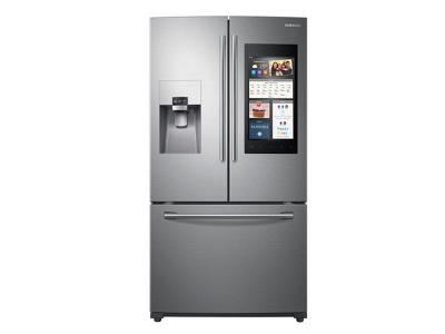 Samsung 24 cu. ft. Capacity 3 -Door French Door Refrigerator with Family Hub - RF265BEAESR