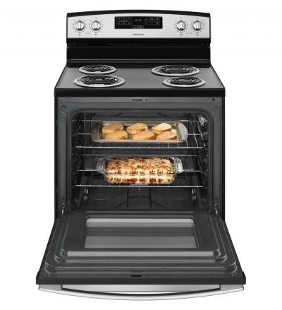 "30"" Amana Electric Range with Bake Assist Temps - YACR4303MFS"