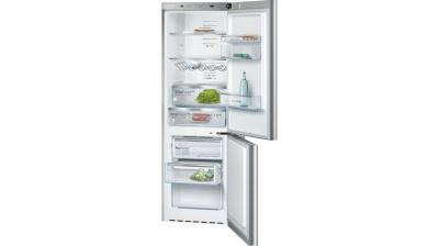 "24"" Bosch Glass Door Counter-Depth Bottom Freezer 800 Series B10CB80NVS"
