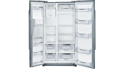 "36"" Bosch 300 Series counter-depth Side-by-Side refrigerator Stainless Steel-B20CS30SNS"