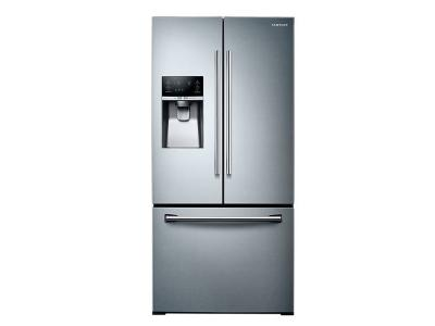 "33"" Samsung  rench Door Refrigerator with Twin Cooling Plus, 25.5 cu.ft - RF26J7500SR"