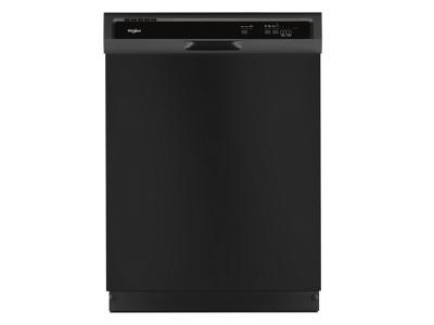 "24"" Whirlpool Heavy-Duty Dishwasher With 1-Hour Wash Cycle - WDF330PAHB"