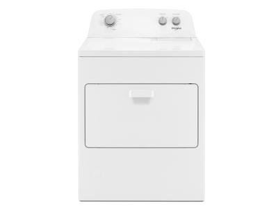 """29"""" Whirlpool 7.0 Cu. Ft. Top Load Gas Dryer With AutoDry Drying System - WGD4850HW"""
