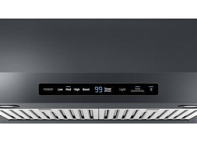 """30"""" Samsung Under Cabinet Hood, Black Stainless Steel - NK30N7000UG"""