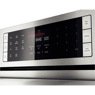 "30"" Bosch Single Wall Oven Benchmark  Series - Stainless Steel HBLP451UC"