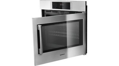 "30"" Bosch Benchmark Single Wall Oven Right Side Opening Door -  HBLP451RUC"
