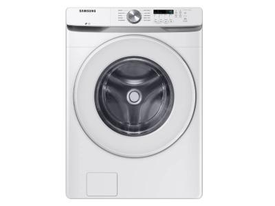 "27"" Samsung 5.2 Cu.Ft. Front Load Washer With Shallow Depth In White - WF45T6000AW"