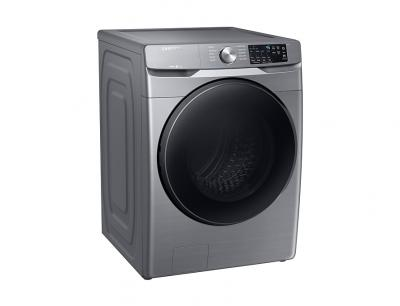 "27"" Samsung 5.2 Cu. Ft. Smart Front Load Washer With Large Capacity in Platinum - WF45R6100AP"