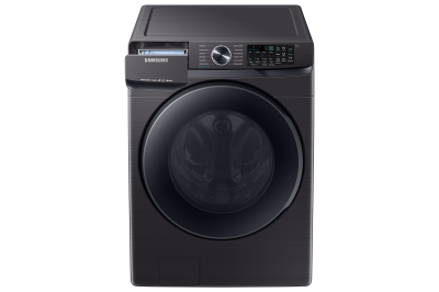 "27"" Samsung 5.8 Cu.Ft. Smart Front Load Washer With Super Speed In Black Stainless Steel - WF50T8500AV"