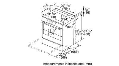 "30"" Bosch Benchmark Gas Slide-in Range Stainless steel - HGIP056UC"